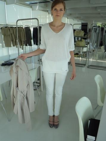 Pantalone bianco